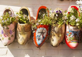 Some Pretty Wooden Clogs